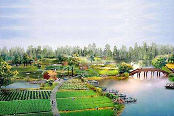 土壤养分速测仪在厚德生态园的应用